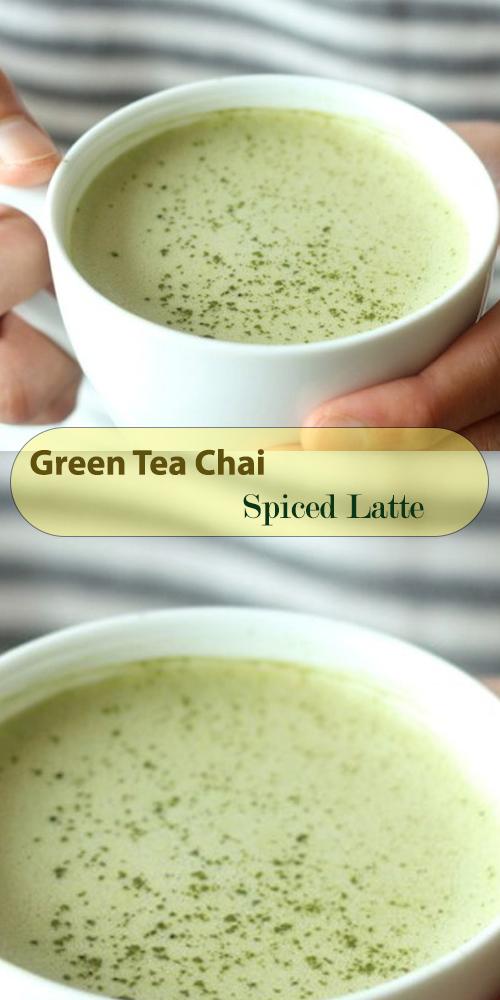 Green Tea Chai Spiced Latte1
